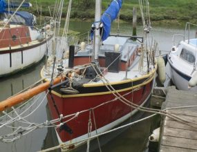 22ft Ferro Gaff Cutter Percy Dalton design