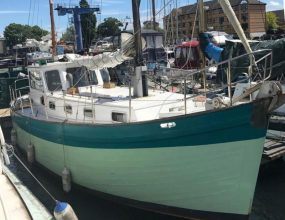 33ft Miller Fifer Motor sailer