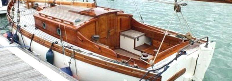 25ft Itchen Ferry, 1923, Gaff cutter