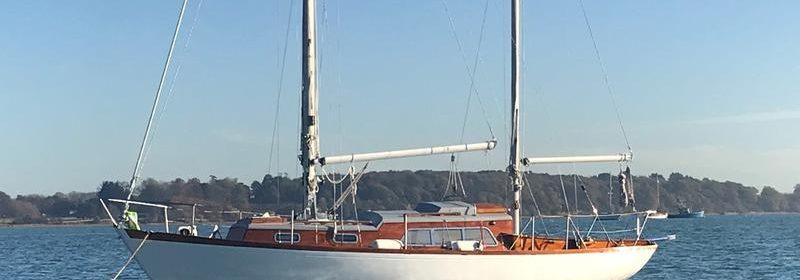 32ft Sovereign Class Holman Bermudan ketch.