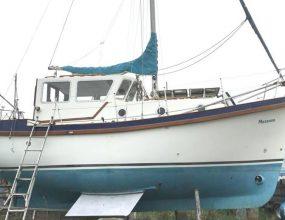 Colvic Watson 26ft GRP Motor Sailer