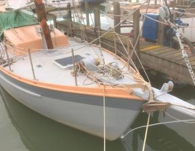 10m Gaff Cutter, East Coast Smack lines, John Leather design