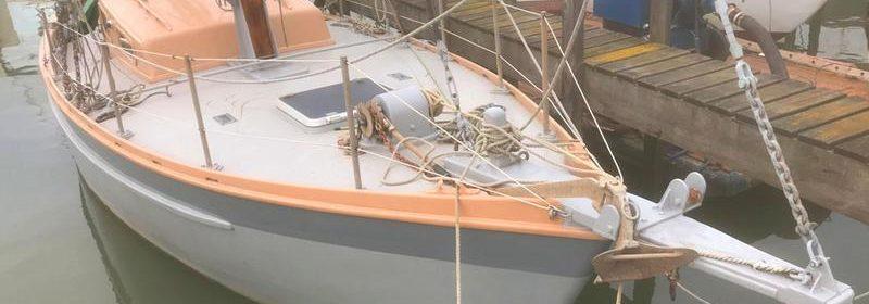 10m Gaff Cutter, Pleasure Yacht, East Coast Smack lines, John Leather design
