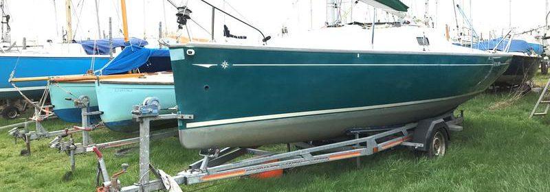 Jeanneau Sun 2000 GRP Trailer Sailer