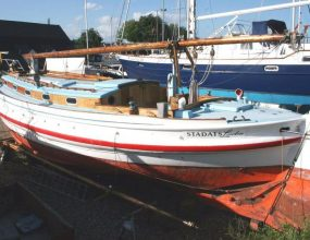 45ft Sailing Converted Lifeboat,1921 Gaff Ketch, houseboat.