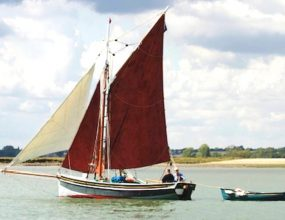 24ft Bawley, Gravesend Shrimp Bawley, Traditional Gaff Cutter