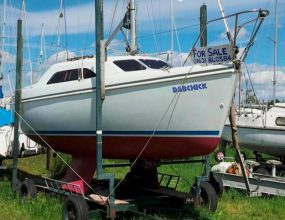 25ft Hunter Ranger 245, GRP Bermudan Sloop, ex demo model, bilge keels