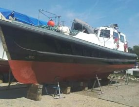 42ft Nelson 42, Pilot vessel, ex Commercial work boat.