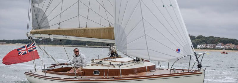 8m Tardorne sloop new build by Tofinou FR, Latitude 46