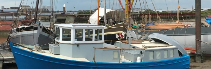 32ft Wooden Motor Cruiser, Fully converted, Watson hull
