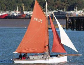 25ft Essex Sailing Smack. Gaff cutter