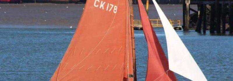25ft Essex Sailing Smack. Gaff cutter