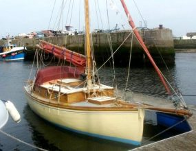 22ft Classic Gaff Sloop 1900's