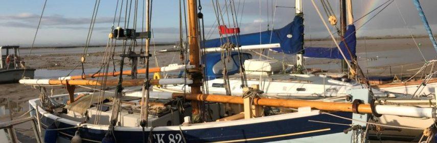 30ft Essex Oyster Smack, Gaff cutter