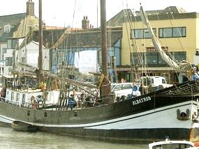 32m Dutch Steel Sailing Clipper , ex Trader.1899