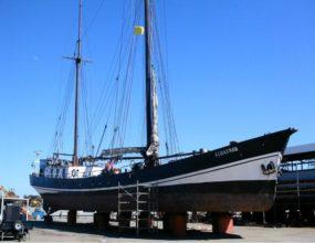 32m Dutch steel Sailing Clipper, ex Trading vessel 1899