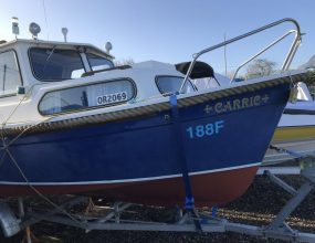 Hardy Navigator 18ft, 40hp New Honda engine and trailer