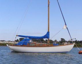 28ft East Anglian Mk 1, wooden Bermudan Sloop