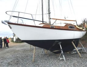 25ft Cheverton Caravelle Bermudan Sloop,1965