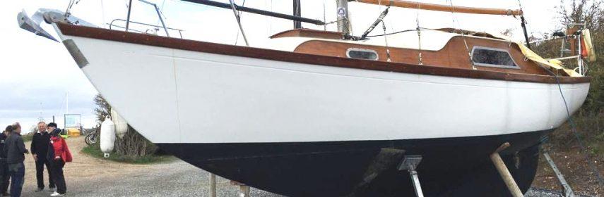25ft Cheverton Caravelle Bermudan Sloop,1965