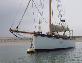 30ft Gaff Cutter, 1930 Hillyard design