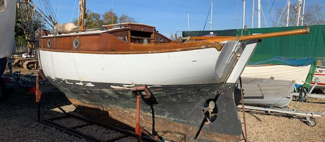 19ft Blackwater Sloop, Classic Bermudan sloop 1961