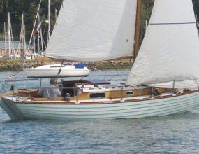 Stella 26ft Classic Clinker wooden Kim Holman Sloop