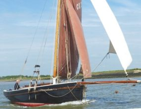 T&Y Smack Yacht GRP,  28ft Gaff Cutter